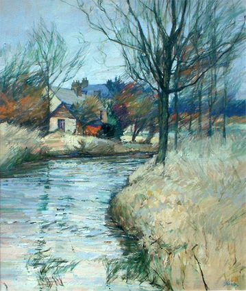 Anthony Atkinson: Towards Boxted Mill