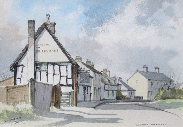 David Green: The Millers Arms, Eaton Socon