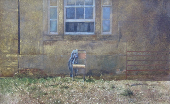 David Tindle: Study for 'Facing The View'