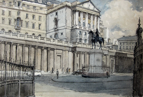 Denys George Wells: The Bank of England