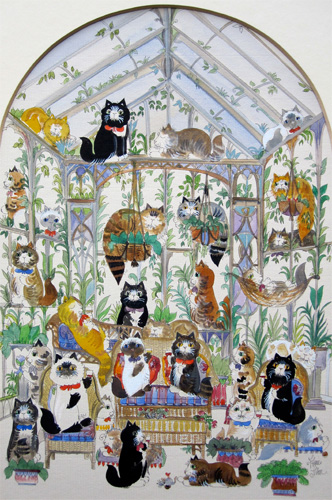 Diane Elson: The Cats Conservatory