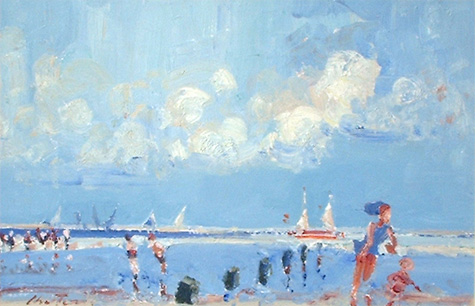 Geoffrey Chatten: Gorleston Beach