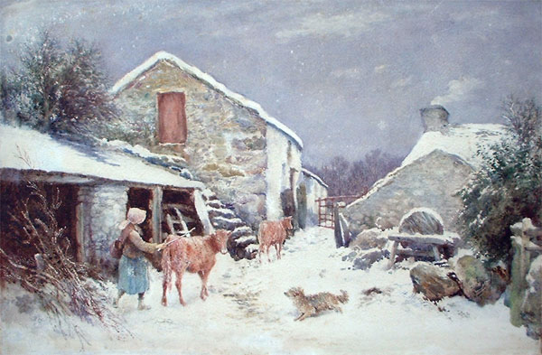 Henry Measham: A Winter's Day