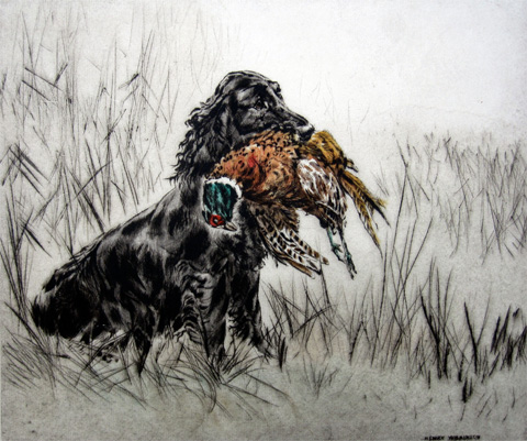 Henry Wilkinson: Spaniel Retrieving Game