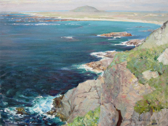 Henry Young Alison: Coastal View at Tiree