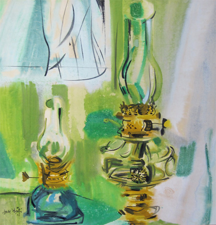Jack Firth: Oil Lamps