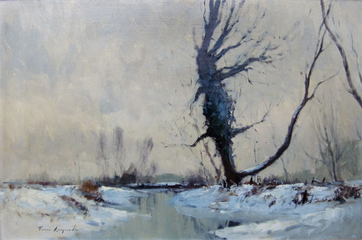 James Longueville: Landscape with Snow