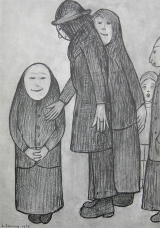 L. S. Lowry: Family Discussion