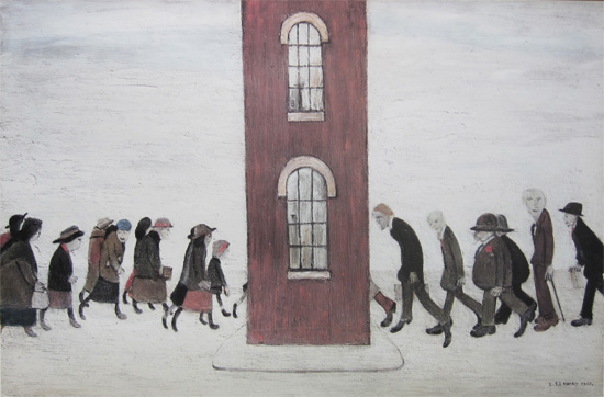L. S. Lowry: Meeting Point
