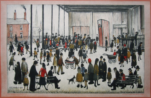 L. S. Lowry: Punch and Judy