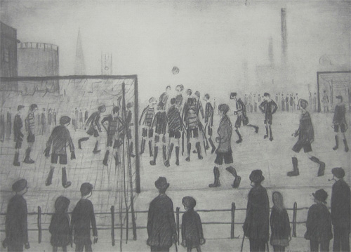 L. S. Lowry: The Football Match
