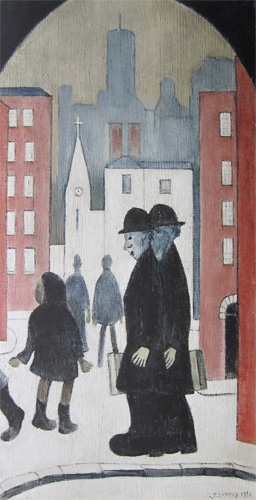 L. S. Lowry: Two Brothers