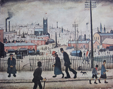L. S. Lowry: View of a Town