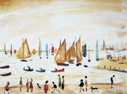 L. S. Lowry: Yachts