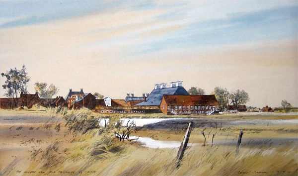 Michael Norman: The Concert Hall and Maltings at Snape