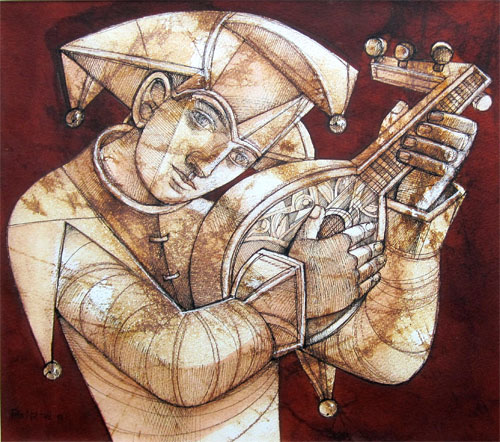 Peter Nuttall: Jester with a Lute