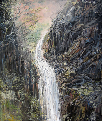 Robert Hill: Mountain Waterfall