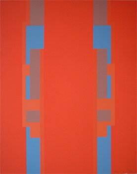 Robyn Denny: Geometric Composition