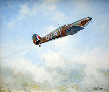 Roland Davies: Spitfire Mk I Battle of Britain 1940