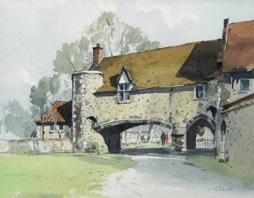 Stanley Orchart: Pulls Ferry, Watergate, Norwich