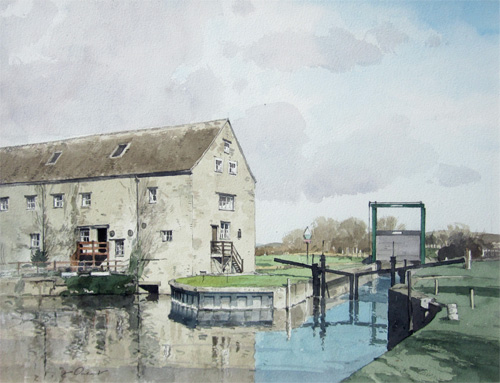 Stanley Orchart: Barnwell Mill, nr. Oundle, Northamptonshire