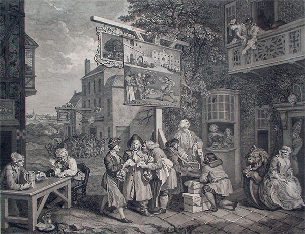 William Hogarth: Canvassing For Votes