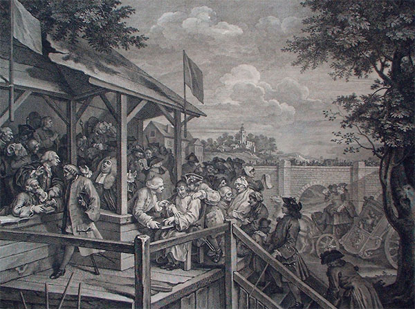 William Hogarth: The Polling
