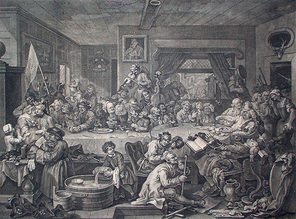 William Hogarth: An Election Entertainment