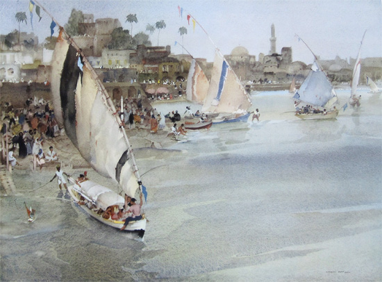 Holiday After Ramadan by Sir William Russell Flint