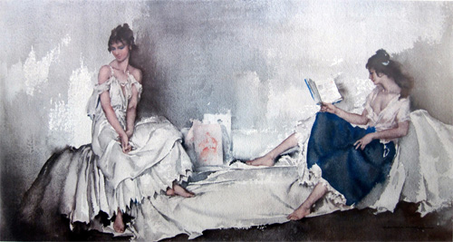 Interlude by Sir William Russell Flint
