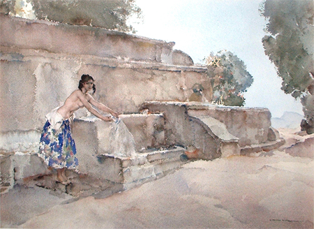 Isabella of Lucenay by Sir William Russell Flint