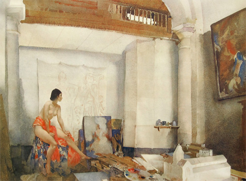 Model for Vanity by Sir William Russell Flint