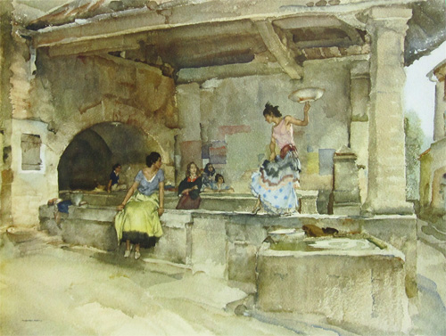 Provençal Caprice by Sir William Russell Flint