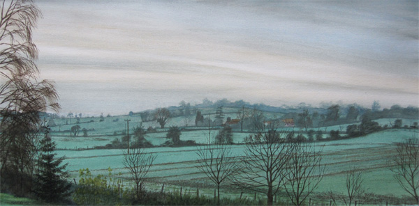 Wladyslaw Mirecki: Morning Frost, Colne Valley