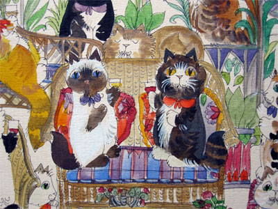 Diane Elson: The Cats Conservatory (Detail)