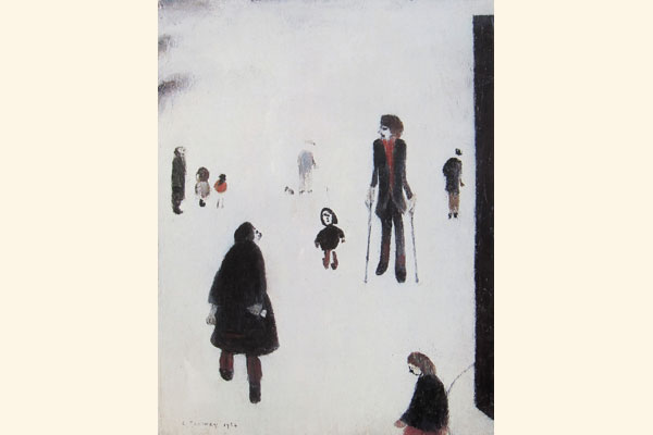 L. S. Lowry: Figures in the Park