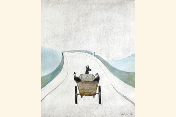 L. S. Lowry: The Cart