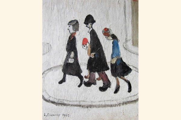 L. S. Lowry: The Family